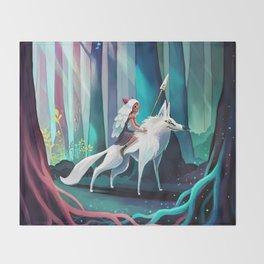 Princess Mononoke Throw Blanket