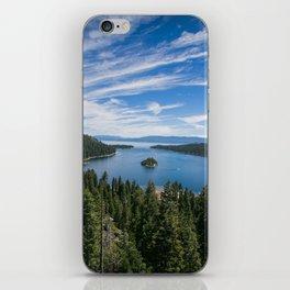 Emerald Bay, Lake Tahoe iPhone Skin