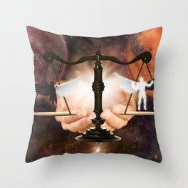 Balance 2 Throw Pillow