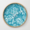 Sea Critters with Blue Background by draperandharlow