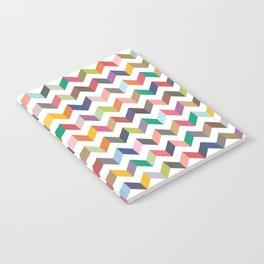 Aztec Geometric Chevron Pattern Notebook