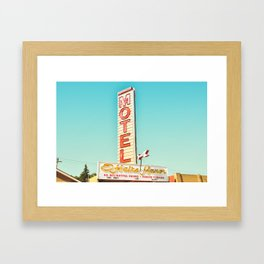 O'Haire Manor Motel Framed Art Print
