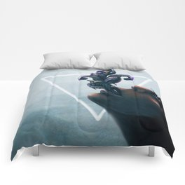Effervescent in the Pure of Water Comforters