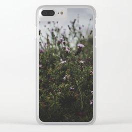 rainy vervainy Clear iPhone Case