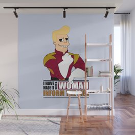 I have made it with a Woman Wall Mural