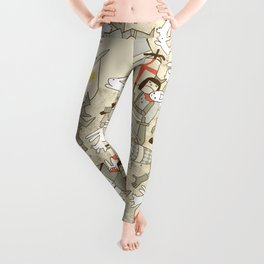 Bad Tempered Rodents Leggings