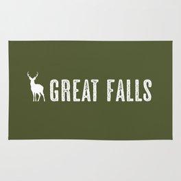 Deer: Great Falls, Montana Rug