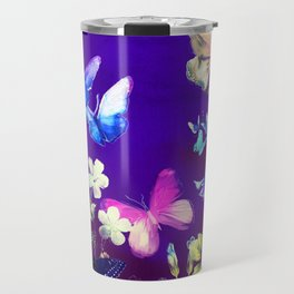 Night Butterflies Travel Mug