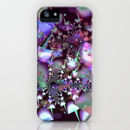 Psychedelic mushrooms iPhone Case