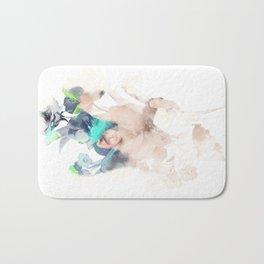 Play Hard Bath Mat