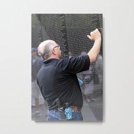 Vietnam Wall Metal Print