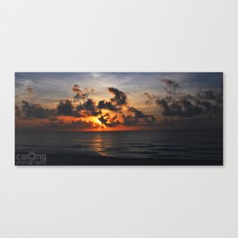 Start of a New day Canvas Print