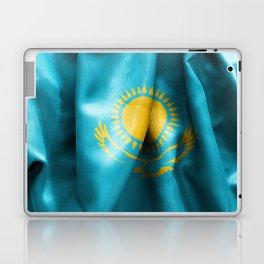 Kazakhstan Flag Laptop & iPad Skin