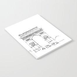 Arc de Triomphe Notebook