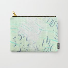 """""""Imitations of the Sea"""" by Amor Towles Carry-All Pouch"""