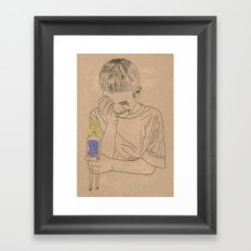 Barbie Doll Framed Art Print