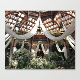 Biltmore Estate Solarium Canvas Print