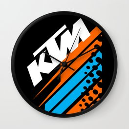 KTM Racing II Wall Clock