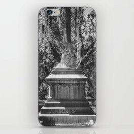 Bonaventure Cemetery Statue iPhone Skin