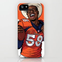 CowboyVon iPhone Case