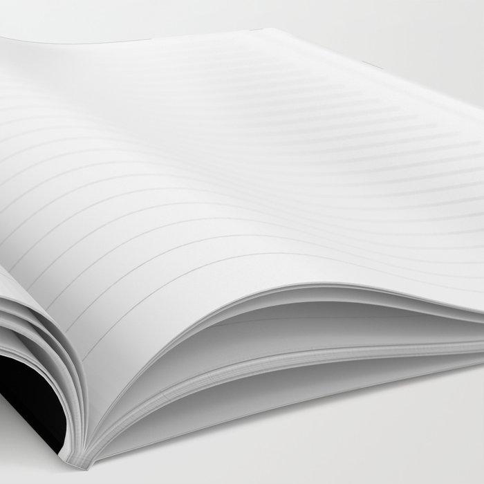 Blush Stripes Notebook