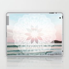 Seashell surf mandala Laptop & iPad Skin