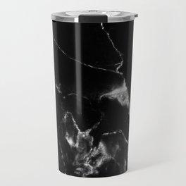 Black Marble I Travel Mug