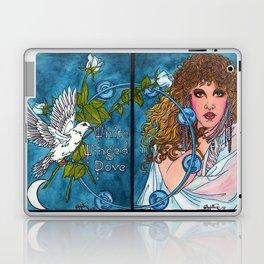 White Winged Dove Laptop & iPad Skin