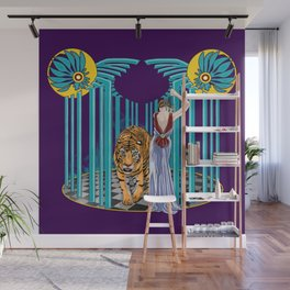 Caged Wall Mural