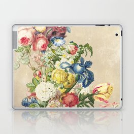 Floral tribute to Louis McNeice (Light) Laptop & iPad Skin