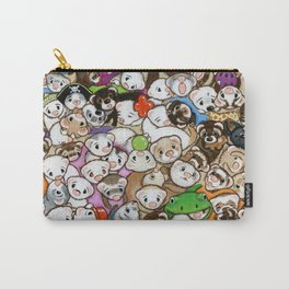 One Hundred Million Ferrets Carry-All Pouch