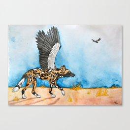 African Simurgh Canvas Print