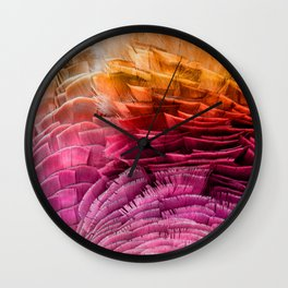 RUFFLED Wall Clock