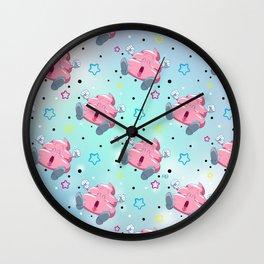 Pink Poo Wall Clock