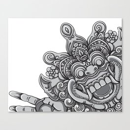 Happy Devil Canvas Print