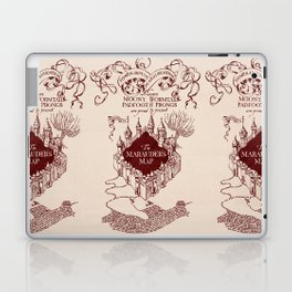 Marauder's Map Laptop & iPad Skin