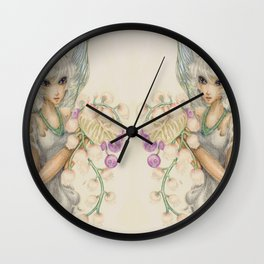 Blue Bells Wall Clock