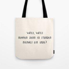 M E T R O P O L I S Tote Bag