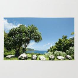 Keanae Maui Hawaii Rug