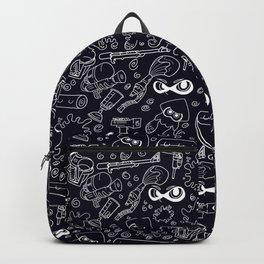 Splats 'n Guns (Black) Backpack