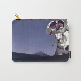 The Giant Astronaut-Mt Rainier Washington State Carry-All Pouch