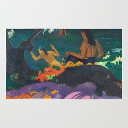 Paul Gauguin - By the Sea- Tropical Decor Rug