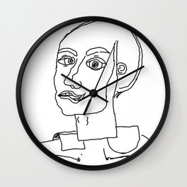 At midnight you are thinking what you and others are Wall Clock