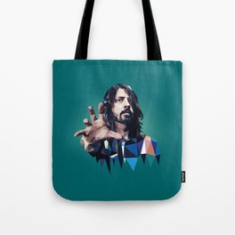 Learn to Fly - Dave Grohl print Tote Bag