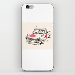 Crazy Car Art 0169 iPhone Skin