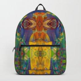 Blue Rainbow Backpack