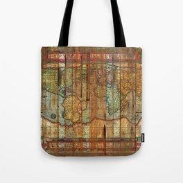 Antique World Tote Bag