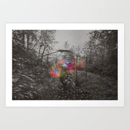 Paulo Coelho Inspired Image Art Print