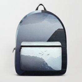 Misty horizon Backpack