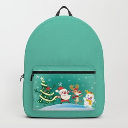 Snow falls Backpack
